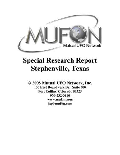 mufonstephenvilleradarreport.pdf